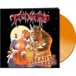 Tankard - The Beauty And The Beer - Clear Orange LP