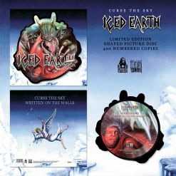 iced earth curse the sky shaped picture vinyl