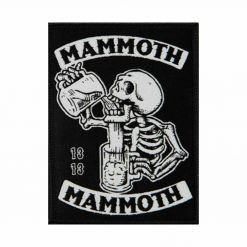mammoth mammoth drunken skull patch