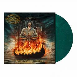 falconer from a dying ember turquoise green marbled vinyl