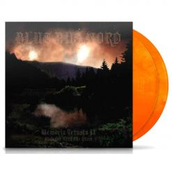 blut aus nord memoria vestusa 2 dialouge with the stars orange yellow marbled 2 vinyl
