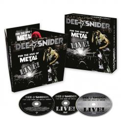 dee snider for the love of metal live digipak cd dvd blu ray