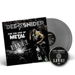 dee snider for the love of metal live silver 2 vinyl dvd
