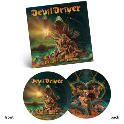 devildriver dealing with demons 1 picture vinyl