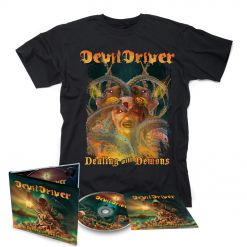 devildriver dealing with demons 1 digipak cd t shirt bundle