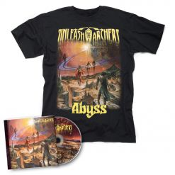 unleash the archers abyss cd + shirt bundle