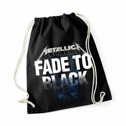 metallica fade to black gymnastic bag
