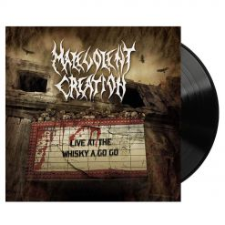 malevolent creation live at the whiskey a go go black vinyl