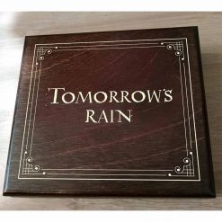 tomorrows rain hollow wooden box
