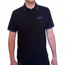 acdc classic logo polo shirt
