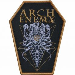 arch enemy coffin cut patch