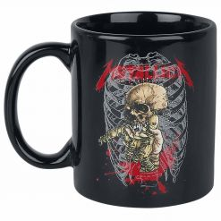 metallica pin head mug