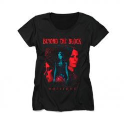 beyond the black horizons girls shirt