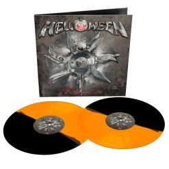 helloween 7 sinners remastered 2020 orange black bi-coloured vinyl