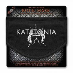 katatonia city burials face mask