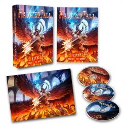 hammerfall live against the world bluray cd digipak
