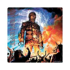 iron maiden wicker man coaster