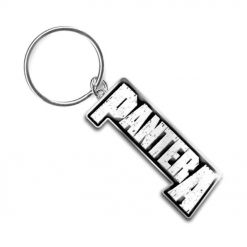pantera logo key ring