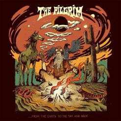 the pilgrim from the earth to the sky and back splatter vinyl