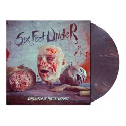 Six Feet Under Nightmares of the Decomposed DARK VIOLE(N)T Marbled Vinyl
