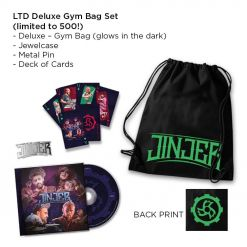 Jinjer - Alive In Melbourne - Limited Deluxe Gym Bag Boxset