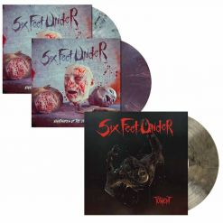 six feet under nightmares of the decomposed torment coloured vinyl