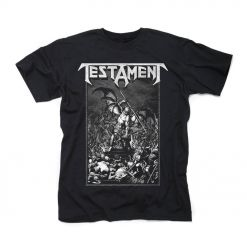 testament pitchfork horns shirt