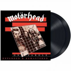 motorhead on parole expanded and remastered black vinyl