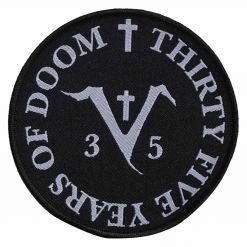 saint vitus 35 years of doom patch
