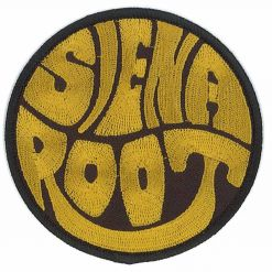 siena root gold logo patch