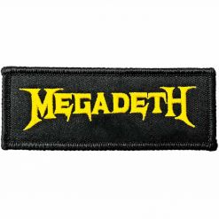 megadeth logo patch