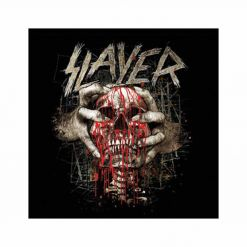 slayer skull clench coaster