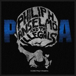 phil anselmo & the illegals face patch