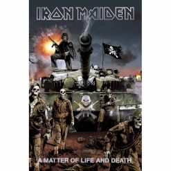 iron maiden a matter of life and death flag