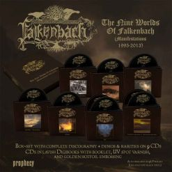 The Nine Worlds Of Falkenbach (Manifestations 1995-2013) - CD Boxset