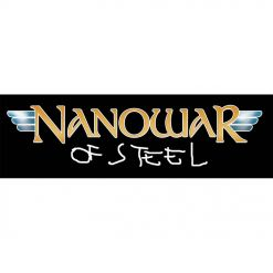 nanowar of steel logo patch