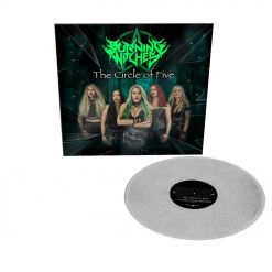 burning witches the circle of five sparkle vinyl