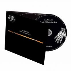 carcass reek of prutrefaction digipak cd