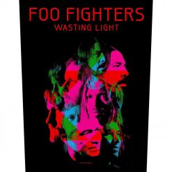 foo fighters wasting light backpatch