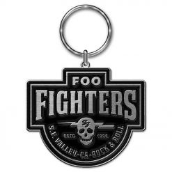 foo fighters est 1995 key ring