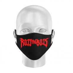 ross the boss logo face mask