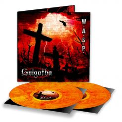Golgotha - YELLOW RED Marbled 2- Vinyl