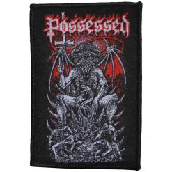 possessed pentagram throne patch