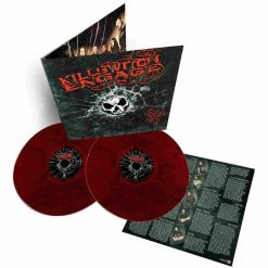 killswitch engage as daylight dies red black marbled viny