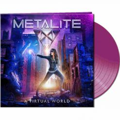 metalite a virtual world purple vinyl