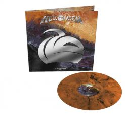 helloween skyfall orange black marbled vinyl
