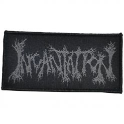 incantation logo patch