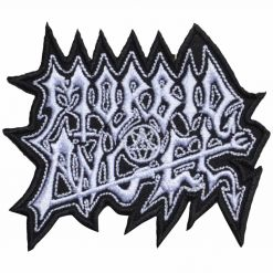 morbid angel logo cut out patch