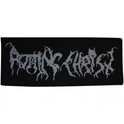 rotting christ silver logo patch