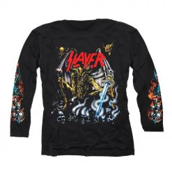 slayer airbrush demon longsleeve